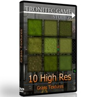 10 High Res Grass Textures