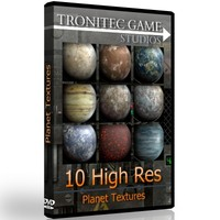 10 High Res Planet Textures