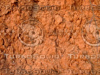 Reddish Brown Soil Wall 20090107 056