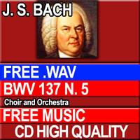 J.S. BACH - BWV 137 N. 5