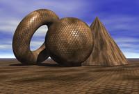 Brown Snake Skin.mat