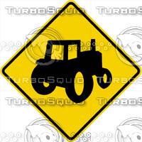 Caution Farm Equipment Sign