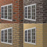 Brick Wall Tileable Texture Bundle