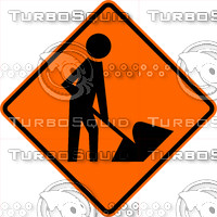 Construction Workers Sign