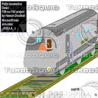 Diesel loco by Hassan Doukkali.jpg