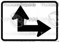 Directional Arrow Sign 3