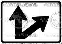 Directional Arrow Sign 4