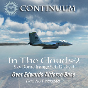 In The Clouds-2 - Edwards AFB