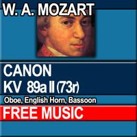 W.A. MOZART - CANON KV 89a II [73r]