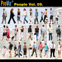 3dRender Pro-Viz People Vol. 09