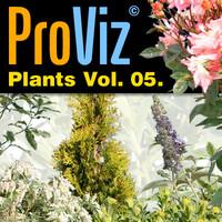 3dRender Pro-Viz Plants Vol. 05