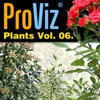 3dRender Pro-Viz Plants Vol. 06
