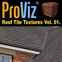 3dRender Pro-Viz Roof Tile Vol. 01