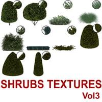 Cut-out Shrubs Vol3