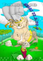 horoscope cartoon character  - aries