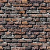 Worn Brick Wall
