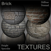 Brick Textures for Shaders