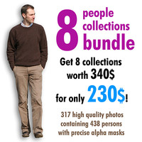 8 people collections bundle