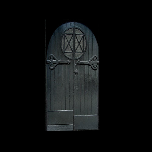 Medieval tavern door with round window & Texture Other door tavern doors