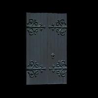 Medieval church / castle door