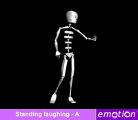 emo0007-Standing laughing - A