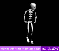 emo0007-Walking with hands in pockets_Loop