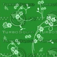 Tileable Flower wallpaper texture