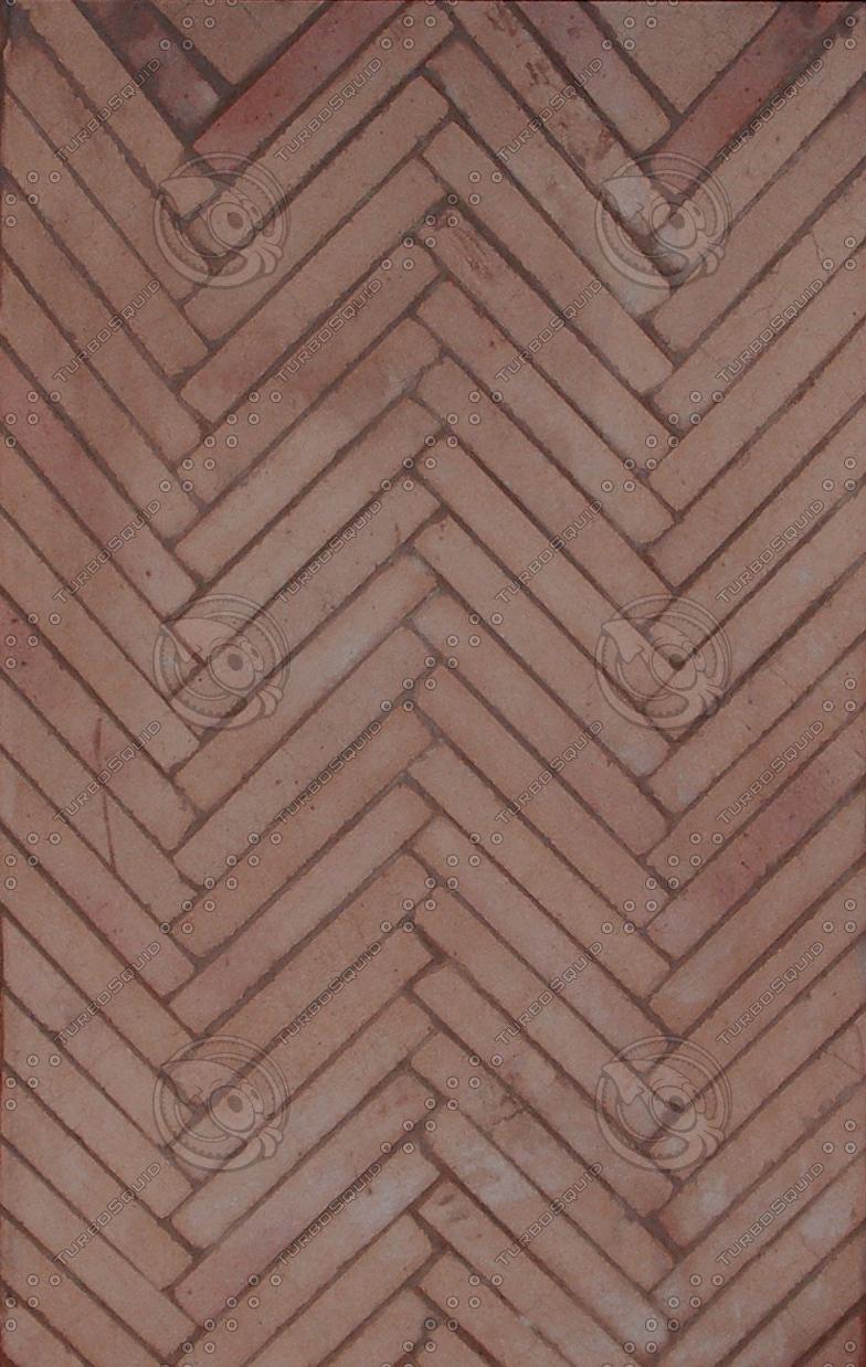 Texture Other Brick Herringbone Pattern