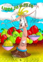 horoscope cartoon character  - libra