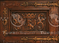 2 Decorative door panel textures