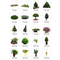 plants collection(20 pcs)