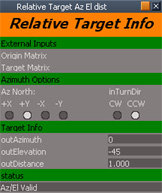 free obj model target relative
