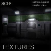 Sci-Fi Futuristic Texture Pack
