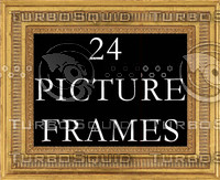 24 Picture Frames