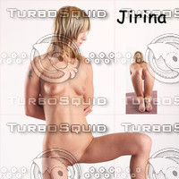 Jirina poses
