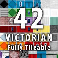 42 Victorian Textures