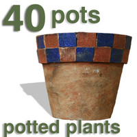 Cut Out - 40 pots