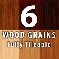 6 Wood Grains