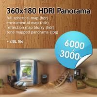 Hi Res Spherical HDRI map [P001] [6000x3000px]