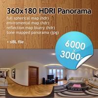 Hi Res Spherical HDRI map [P002] [6000x3000px]