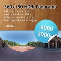 Hi Res Spherical HDRI map [P011] [6000x3000px]