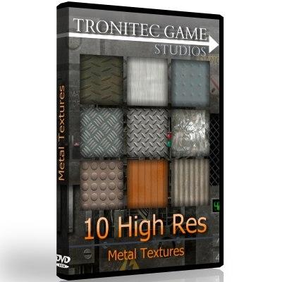 10 High Res Metal Textures