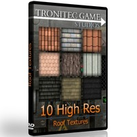 10 High Res Roof Textures