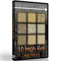 10 High Res Sand Textures