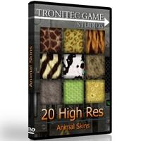 20 High Res Animal Skins