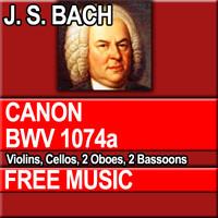 J.S. BACH - CANON BWV 1074a