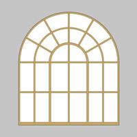 Decorative Arch Window