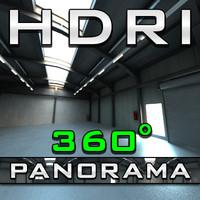 HDRI Panorama - Depot