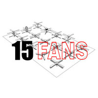 15 Modern Fans Collection