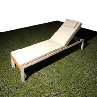 Etra Outdoor Chaise Lounge